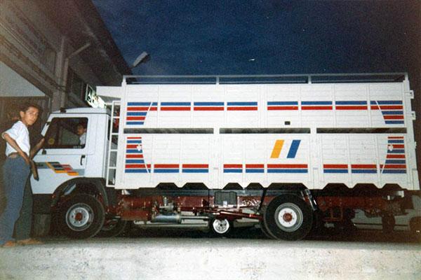 Çift Katlı Hayvan Taşıma Kasası, çift katlı hayvan taşıma kasa