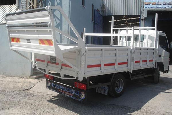 Profil ve Alüminyum Sepetli Sac Kasa, profil ve alüminyum taşıma amaçlı sepetli sac kasa
